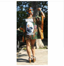 The I LOVE BARRY Handmade Dashiki feat. Pres. Barak Obama by Kannu Collection