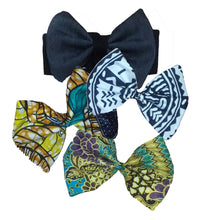 Miracle's Mommy: Handmade Fabric & Leather Bow Headbands or Barrettes