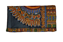 "Kannu Collection: ""The Brandon"" Handmade Dashiki Clutch Purse"