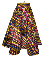 Kannu Collection: The Ida Handmade Ankara Wrap Skirt with pockets