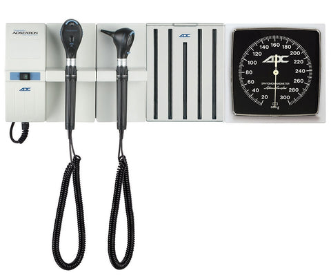 Adstation™ 5610-7 3.5v Modular Diagnostix Wall System with Clock Aneroid