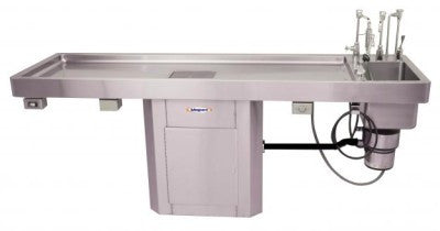 Autopsy Table – Pedestal Style with Large Sink – CE100