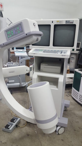 GE  OEC 6800 Mini C-Arm with Touch Screen Operation and 1k x 1k 16-bit Image Process