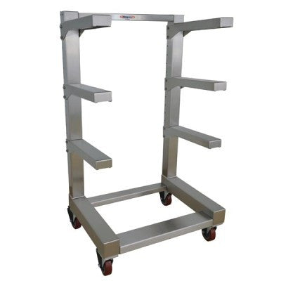 Portable Cantilever Storage Rack – 4 Tier With 31″ Arms – IB100