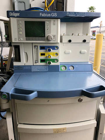 Dräger Fabius GS (Without Monitor)