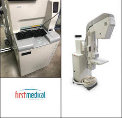 GE DMR Plus Analog Mammography System with Fujifilm ClearView-1m CR (Combo)