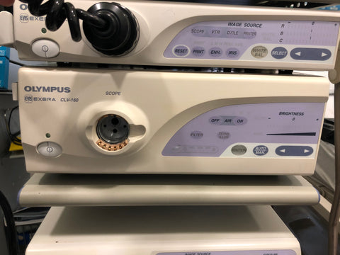 Olympus Endoscopy Tower System Model 160