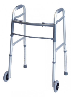 Lumex Everyday Dual Release Walker with Wheels
