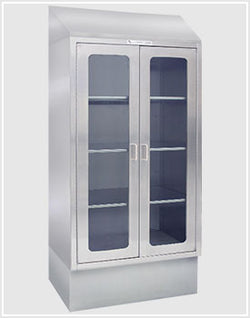 Freestanding Stainless Steal Supply Cabinet - FSSC Double Door