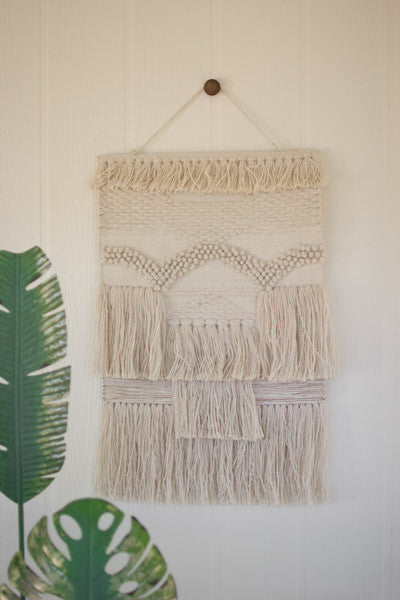 MONO-COLOR BOHO WALL HANGING