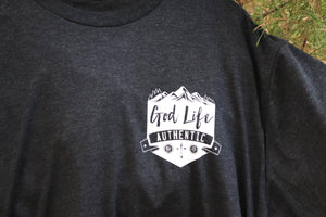 Christian T Shirts | Badge Authentic | Mountain Design