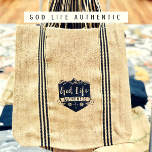 Eco Friendly | Reusable Tote Bags | Jute Bag by God Life Authentic
