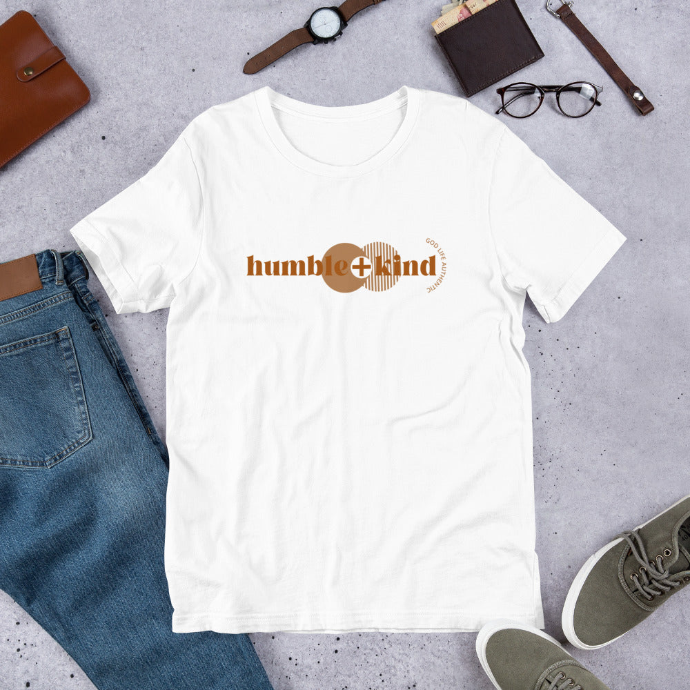 HUMBLE & KIND SHORT SLEEVED UNISEX T-SHIRT