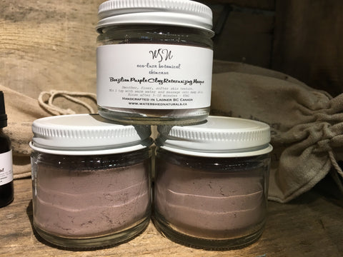 Brazilian Purple Clay Retexturizing Masque