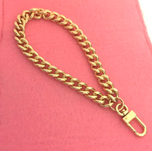 Chain Wristlet Gold (10mm) Curb Sturdy Thick