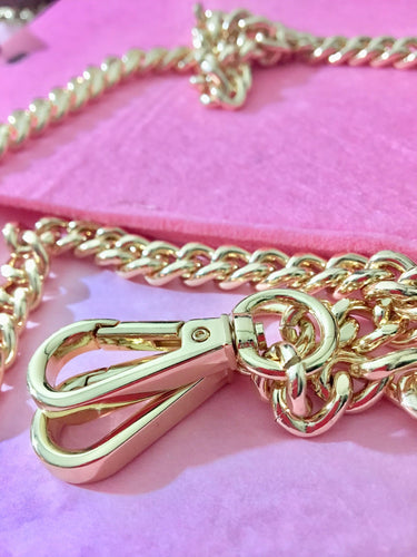 Thick Curb Purse Chain - 10mm