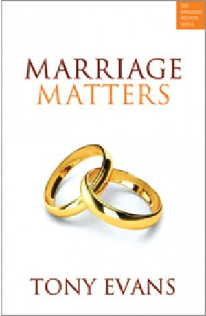 Marriage Matters -- Tony Evans