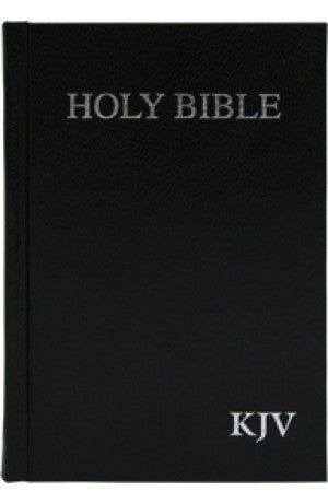 KJV Holy Bible Compact, Black, (HB)