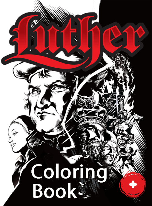 Luther: The Colouring Book