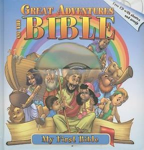 Great Adventures of The Bible (With CD)