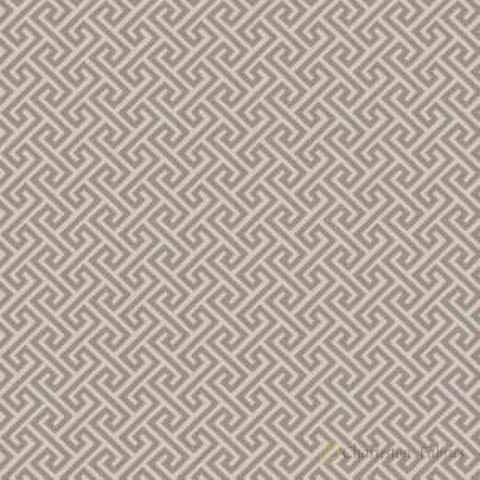 03359 Grey Geometric Fabric - Charleston Fabric