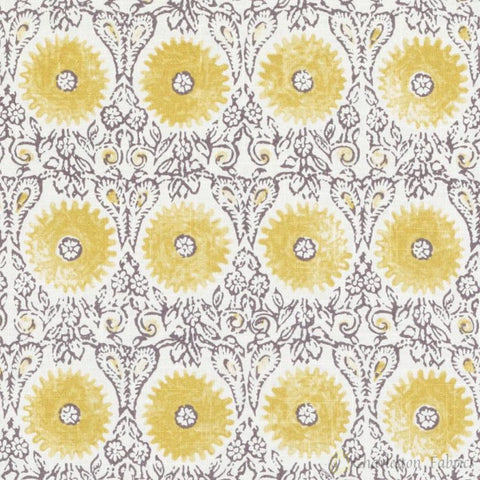 72087-66 Riya, Yellow Duralee Fabric - Charleston Fabric