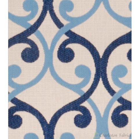 Aweigh Lapis Merrimac/Barrow Industries Fabric - Charleston Fabric