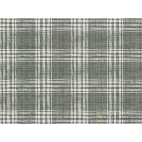 Barnegat Plaid 191 Pearl Grey Covington Fabric Wovens Fabric - Charleston Fabric