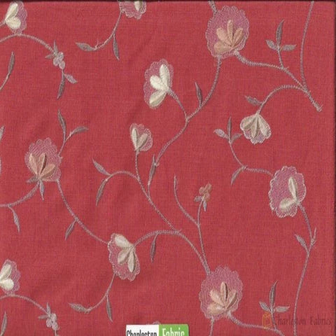 Braemore Embroidery Floral Fabric