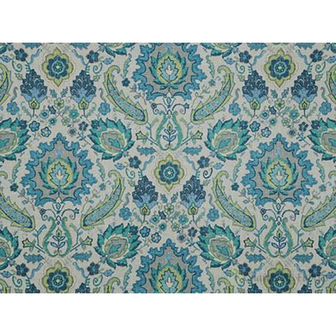 Bursa 521 Aquamarine Covington Fabric Prints Fabric - Charleston Fabric