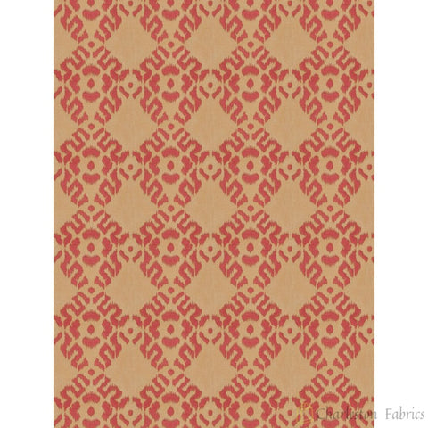 Charleston Arkose Diamond Berry Diamond Fabric - Charleston Fabric