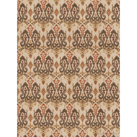Charleston Banjara Cinder Wovens Fabric - Charleston Fabric
