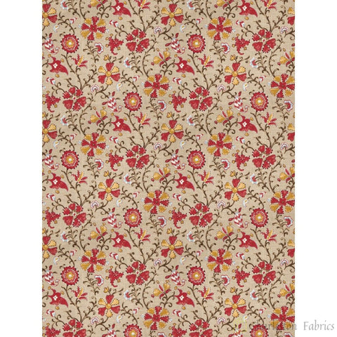 Charleston Cheval Canyon Floral Fabric - Charleston Fabric