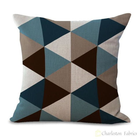 Charleston Fabrics Abstract Geometry Pillow Cases Only 15 / 18X18