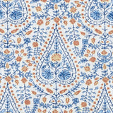 De42511-5 Busun, Blue Duralee Prints Fabric