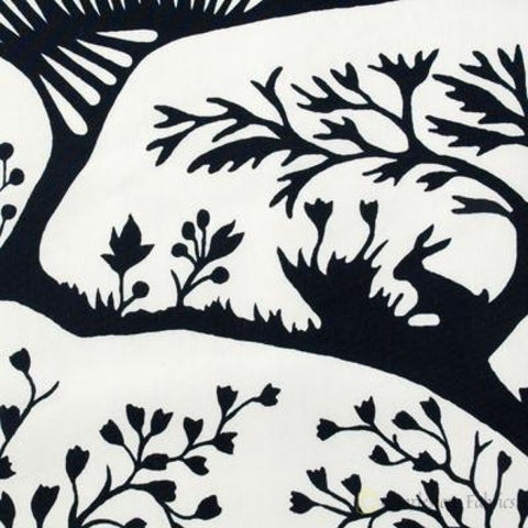 Duralee Thomas Paul Forest Navy Fabric
