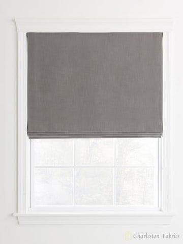 Flat Custom Roman Shades For Your Home / Office Roman Shade