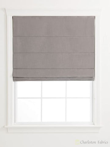 Knife Pleat Custom Roman Shades For Your Home / Office Roman Shade