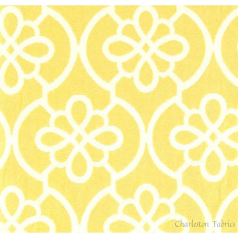P Kaufmann Flow 103 Lemon Jacquard Fabric