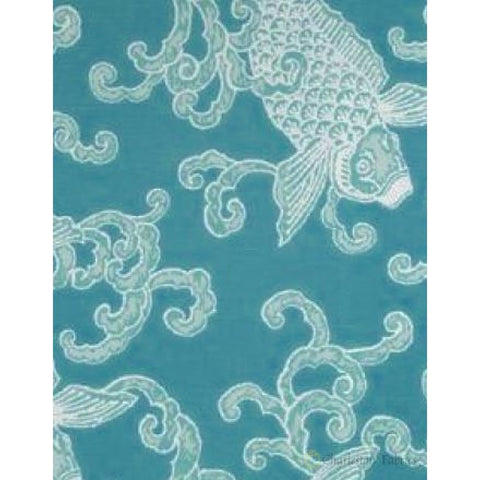 Pisces Sea Foam Home Accent Fabrics Fabric