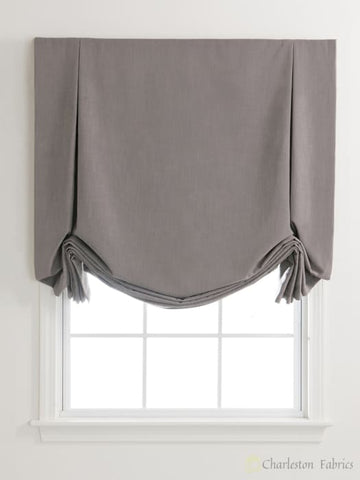 Pleated London Custom Roman Shades For Your Home / Office Roman Shade