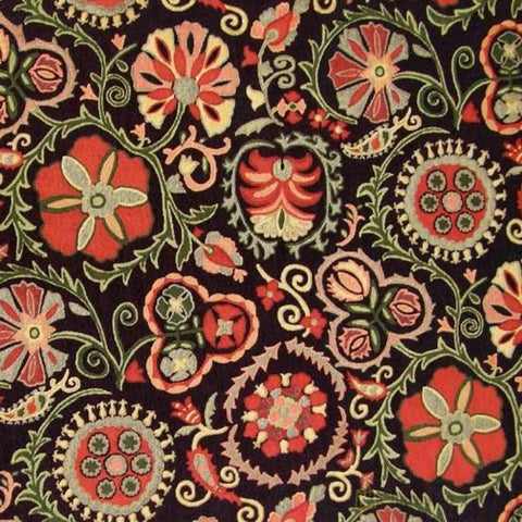 Regal Fabrics R-Molina Black Tapestry Fabric