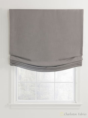 Relaxed Custom Roman Shades For Your Home / Office Roman Shade