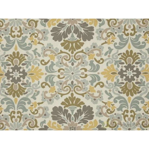 Waverly Folk Damask Bliss Fabric