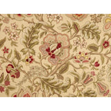 Waverly Imperial Dress Twill Gold Floral Fabric