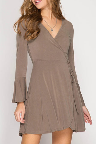 Cassandra Wrap Dress