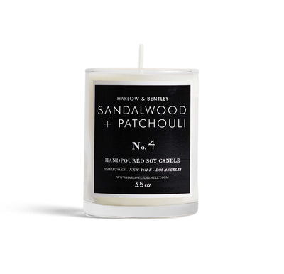 No. 4 Sandalwood + Patchouli