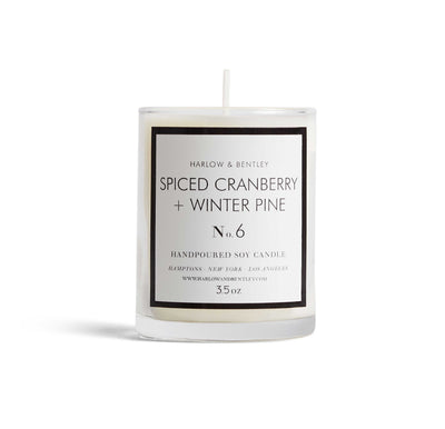 No. 6 Spiced Cranberry + Winter Pine