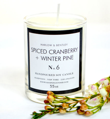 Spiced Cranberry 3.5oz. Votive