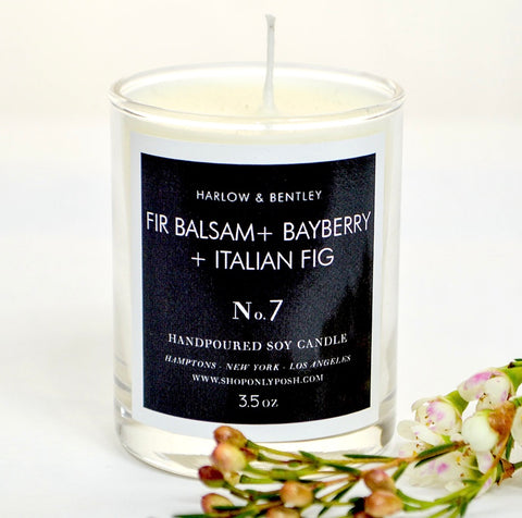 Fir Balsam + Italian Fig 3.5 oz Votive
